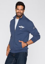 Gilet sweat à col montant Regular Fit, John Baner JEANSWEAR