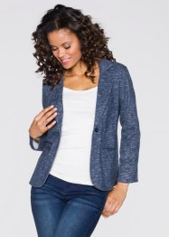 Blazer sweat-shirt, RAINBOW, bleu chiné