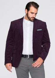 Veste de costume en velours côtelé Regular Fit, bpc selection, aubergine