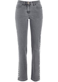 Jean extensible, bpc selection, gris denim