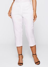 Pantalon extensible 7/8, bpc selection, blanc