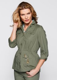 Veste style chemise, bpc selection, beige galet
