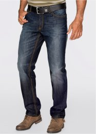 Jean Regular Fit Straight, John Baner JEANSWEAR, bleu foncé used