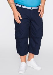 Pantalon 3/4 avec ceinture Loose Fit, bpc bonprix collection