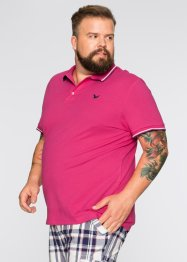 Polo Regular Fit, bpc bonprix collection, fuchsia foncé