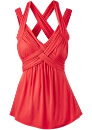 Top, BODYFLIRT boutique, rouge clair