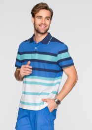 Polo Regular Fit, bpc selection, bleu/vert/blanc rayé