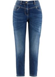 Jean extensible Girlfriend 7/8, bpc bonprix collection, bleu stone used