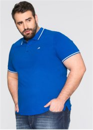 Polo Regular Fit, bpc bonprix collection, bleu azur