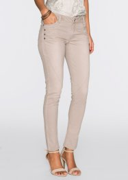 Pantalon extensible, BODYFLIRT, taupe washed