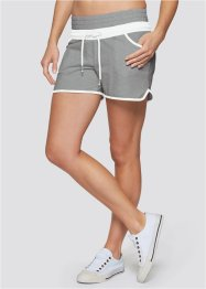 Short sport, bpc bonprix collection, gris clair chiné