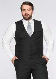 Gilet de costume Regular Fit, bpc selection, noir