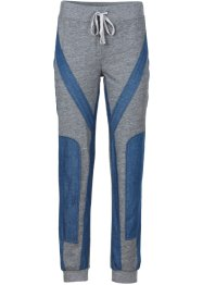 Pantalon sweat, RAINBOW, gris chiné