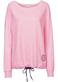 Sweat-shirt, John Baner JEANSWEAR, rose