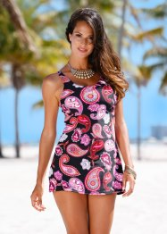 Robe de bain, bpc selection, noir/rose