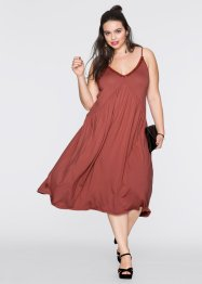 Robe, RAINBOW, marron marsala