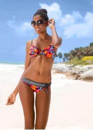 Haut de bikini à armatures, BODYFLIRT, orange/fuchsia