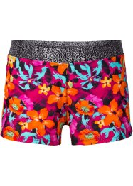 Short de bain, BODYFLIRT, orange/fuchsia