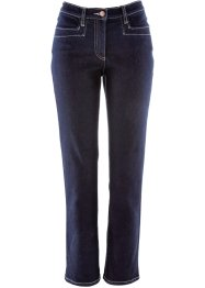 Jean extensible amincissant longueur cheville, bpc bonprix collection, dark denim
