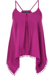 Top-blouse, BODYFLIRT, fuchsia moyen