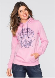Sweat-shirt imprimé, John Baner JEANSWEAR, rose