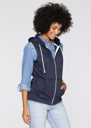 Gilet sweat-shirt sans manches, John Baner JEANSWEAR
