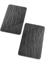 Plaques de protection Ardoise (Ens. 2 pces.), bpc living, anthracite