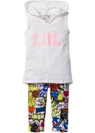 Top + legging corsaire (Ens. 2 pces.), bpc bonprix collection
