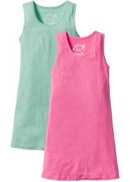 Lot de 2 robes T-shirt, bpc bonprix collection