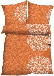 Linge de lit Sandra, bpc living, orange