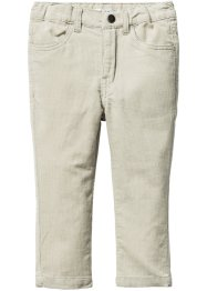 Pantalon velours côtelé skinny, bpc bonprix collection, marron clair