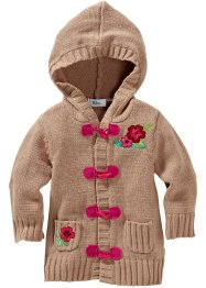 Le gilet à capuche, bpc bonprix collection, camel