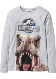 T-shirt à manches longues JURASSIC, Jurassic World, gris