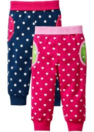 Lot de 2 pantalons sweat bébé, bpc bonprix collection