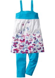 Robe + legging 3/4 (Ens. 2 pces.), bpc bonprix collection, imprimé papillons
