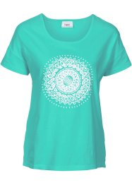 T-shirt de relaxation, bpc bonprix collection, bleu menthol
