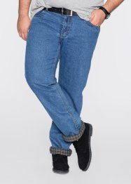 Jean thermo Classic Fit Straight, bpc bonprix collection, bleu