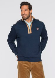 Sweat-shirt Regular Fit, bpc selection, bleu foncé