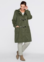 Le manteau, bpc bonprix collection, olive foncé