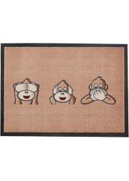 Tapis de protection Monkey, bpc living, marron