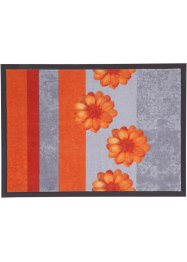 Tapis de protection Flower, bpc living, orange