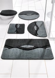 Tapis de bain William, bpc living, anthracite