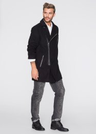Manteau court biker Regular Fit, RAINBOW