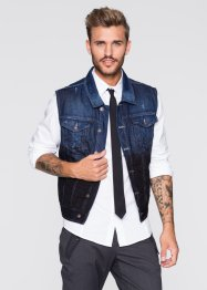 Gilet en jean Slim Fit, RAINBOW