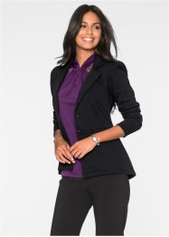 Blazer à basque, BODYFLIRT, anthracite chiné