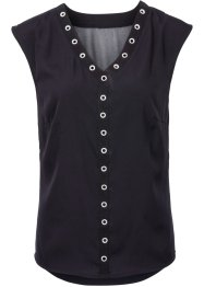 Top-blouse avec rivets, RAINBOW
