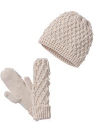 Ensemble beanie et gants, bpc bonprix collection