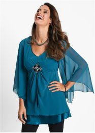 Blouse-tunique, bpc selection, noir