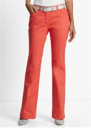 Pantalon extensible Bootcut, bpc selection, capucine