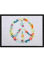 Tapis de protection Peace, bpc living, multicolore
